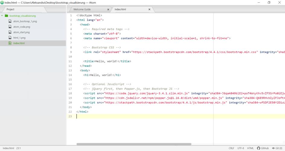 starter template bootstrap